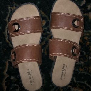 Women's size 11 Sandals comfort foot bed